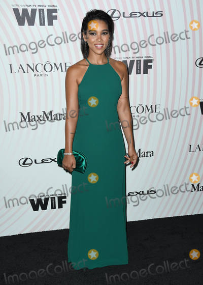 Alexandra Shipp Photo - 13 June 2018 - Beverly Hills California - Alexandra Shipp Women In Film 2018 Crystal  Lucy Awards held at  Beverly Hilton Hotel Photo Credit Birdie ThompsonAdMedia