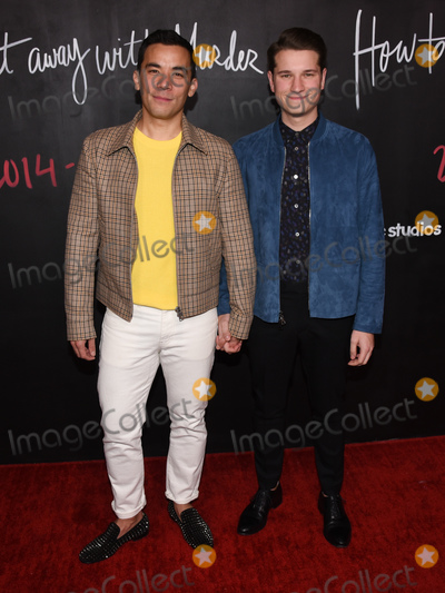 Jacke Photo - 08 February 2020 - Hollywood California - Conrad Ricamora and Jack Falahee How to Get Away with Murder Series Finale at Yamashiro Photo Credit Billy BennightAdMedia