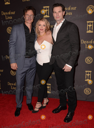 Austin Peck Photo - 07 November - Hollywood Ca - Patrick Muldoon Christie Clark Austin Peck Arrivals for Days of Our Lives 50th Anniversary held Hollywood Palladium Photo Credit Birdie ThompsonAdMedia