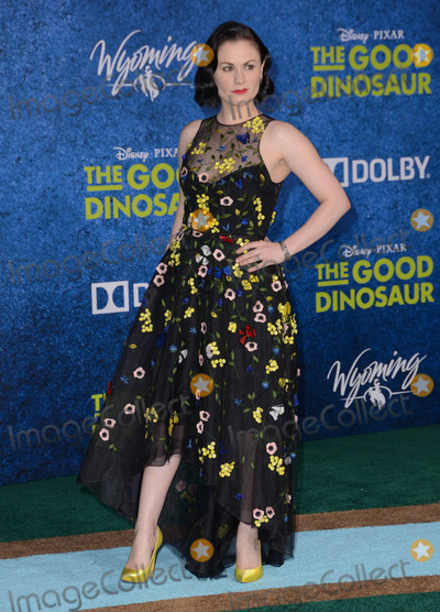 Anna Paquin Photo - 17 November - Hollywood Ca - Anna Paquin Arrivals for the Premiere of Disney-Pixars The Good Dinosaur held at The El Capitan Theater Photo Credit Birdie ThompsonAdMedia