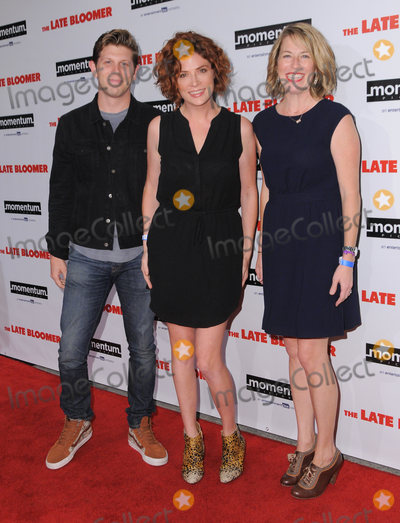 Ann Tierney Photo - 03 October 2016 - Westwood California Joey Greer Vanessa Ragland Ann Tierney Premiere Of Momentum Pictures The Late Bloomer  held at iPic Theaters Westwood Photo Credit Birdie ThompsonAdMedia