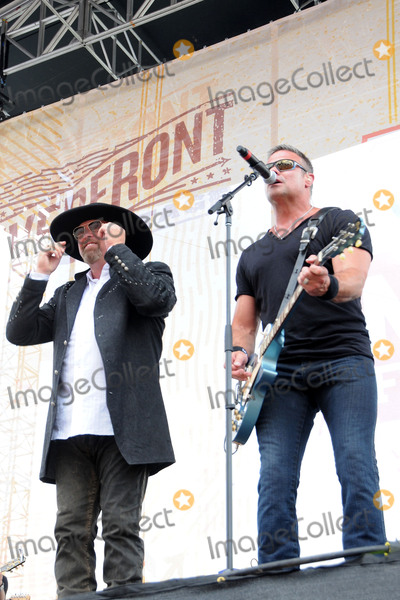 Troy Gentry Photo - 11 June 2015 - Nashville Tennessee - Eddie Montgomery Troy Gentry Montgomery Gentry 2015 CMA Music Festival Day One held at the Chevrolet Riverfront Stage Photo Credit Dara-Michelle FarrAdMedia