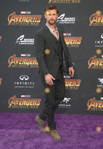 Chris Hemsworth Photo - 23 April 2018 - Hollywood California - Chris Hemsworth Disney and Marvels Avengers Infinity War Los Angeles Premiere held at Dolby Theater Photo Credit F SadouAdMedia