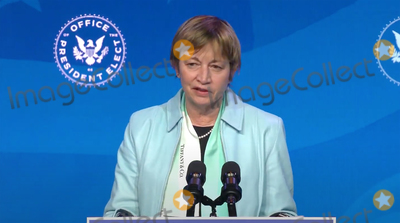 Queen Photo - Dr Maria Zuber Co-Chair of the Presidents Council of Advisors on Science and Technology (PCAST) speaks after United States President-elect Joe Biden made remarks announcing him and other Key Members of White House Science Team from the Queen Theatre in Wilmington Delaware on Friday January 15 2021 Credit Biden Transition TV via CNPAdMedia