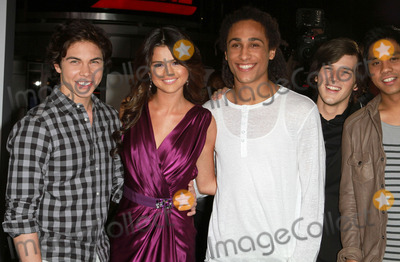 Allstar Weekend Photo - 8 February 2011 - Los Angeles California - Allstar Weekend with Selena Gomez Justin Bieber Never Say Never Los Angeles Premiere held At Nokia Theatre LA Live Photo Kevan BrooksAdMedia