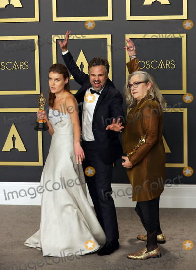 Teairra Mar Photo - 09 February 2020 - Hollywood California - Carol Dysinger Elena Andreicheva Mark Ruffalo attend the 92nd Annual Academy Awards presented by the Academy of Motion Picture Arts and Sciences held at Hollywood  Highland Center Photo Credit Theresa ShirriffAdMedia
