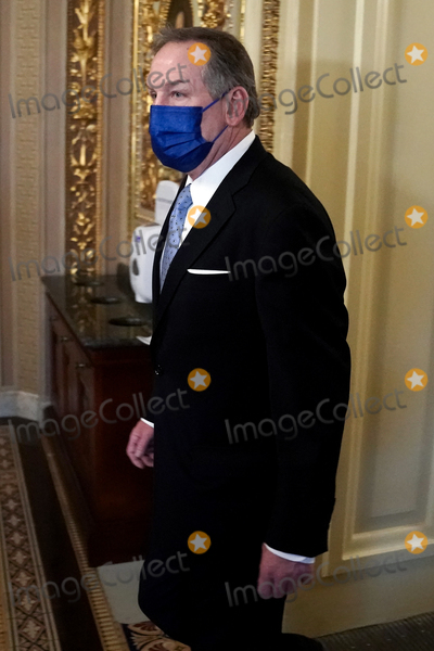 President Trump Photo - Michael van der Veen attorney for former President Donald Trump is seen in the Senate Reception Room before the fifth day of the impeachment trial of former President Trump on Saturday February 13 2021Credit Greg Nash - Pool via CNPAdMedia