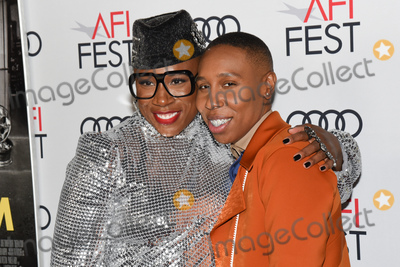 Aisha Hinds Photo - 14 November 2019 - Hollywood California - Aisha Hinds Lena Waithe AFI FEST 2019 Presented By Audi  Queen  Slim Premiere held at TCL Chinese Theatre Photo Credit Billy BennightAdMedia