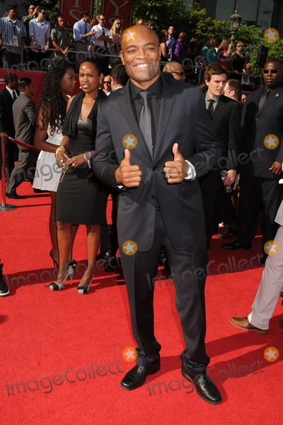 Anderson Silva Photo - 11 July 2012 - Los Angeles California - Anderson Silva 2012 ESPY Awards - Arrivals held at Nokia Theatre LA Live Photo Credit Byron PurvisAdMedia