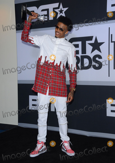 August Alsina Photo - 29 June 2014 - Los Angeles California - August Alsina Press Room for the 2014 BET AWARDS held at the Nokia Theater LA Live in Los Angeles Ca Photo Credit Birdie ThompsonAdMedia