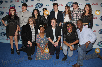 Jessica Meuse Photo - 20 February 2014 - West Hollywood California - Top 13 Finalists Alex Preston Ben Briley Caleb Johnson CJ Harris Dexter Roberts Emily Piriz Jena Irene Jessica Meuse Kristen OConnor Majesty Rose Malaya Watson MK Nobilette Sam Woolf Foxs American Idol XIII Finalists Party held at Fig  Olive Melrose Place Photo Credit F SadouAdMedia