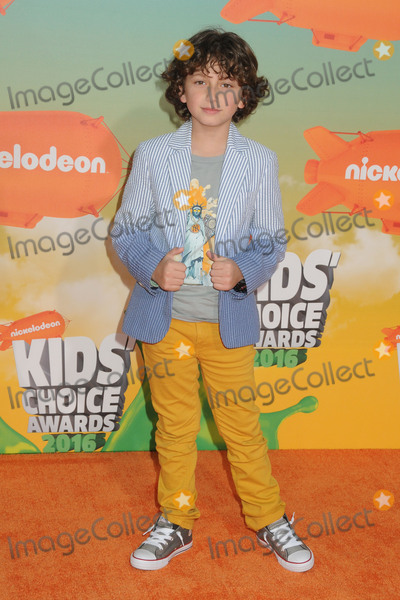 August Maturo Photo - 12 March 2016 - Inglewood California - August Maturo 2016 Nickelodeon Kids Choice Awards held at The Forum Photo Credit Byron PurvisAdMedia