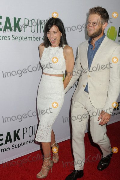 Aaron Fox Photo - 27 August 2015 - Hollywood California - Perrey Reeves Aaron Fox Break Point Los Angeles Premiere held at the TCL Chinese 6 Theatre Photo Credit Byron PurvisAdMedia