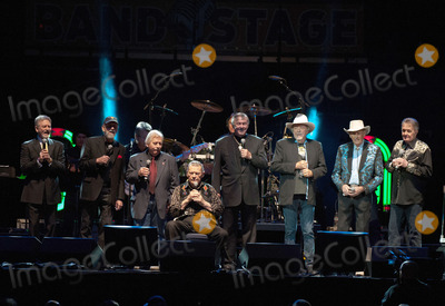 Ray Stevens Photo - 22 November 2013 - Nashville Tennessee - Larry Gatlin Ray Stevens John Conlee Jim Ed Brown Stonewall Jackson Bobby Bare Jimmy C Newman Bill Anderson  George Jones Tribute Concert Playin Possum The Final No Show held at Bridgestone Arena George Jones was on his farewell tour titled The Grand Tour when he passed away on April 12 2013 at the age of 81 George Jones was the 2 best-charting country artist of all time with 143 Top 40 hits since starting his career in the 50s Nashville honored the music legend with an all-star tribute the date that Jones was to perform the final show of his illustrious career Photo Credit Ryan PavlovAdMedia