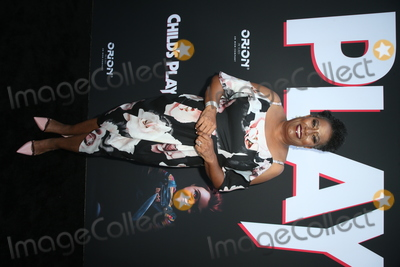 CARLEASE BURKE Photo - 19 June 2019 - Hollywood California - Carlease Burke Childs Play Los Angeles Premiere held at the Arclight Hollywood Photo Credit Faye SadouAdMedia