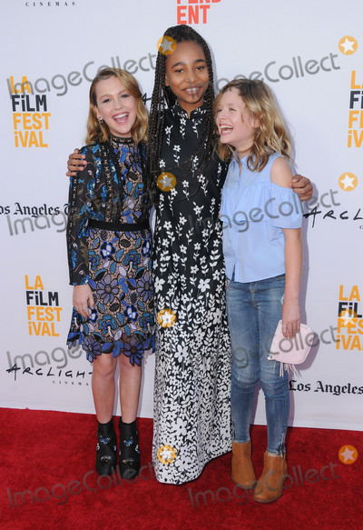 Tayler Buck Photo - 19 June 2017 - Los Angeles California - Talitha Bateman Tayler Buck Lulu Wilson LA Film Festival Premiere of Annabelle Creation held at Theater at Ace Hotel in Los Angeles Photo Credit Birdie ThompsonAdMedia