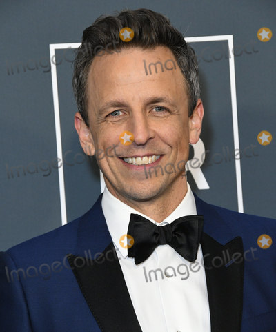 Seth Meyer Photo - 12 January 2020 - Santa Monica California - Seth Meyers 25th Annual Criticis Choice Awards - Arrivals held at Barker Hangar Photo Credit Birdie ThompsonAdMedia