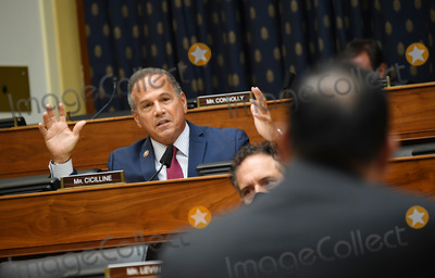 Mike Pompeo Photo - United States Representative David Cicilline (Democrat of Rhode Island) questions witnesses during a US House Committee on Foreign Affairs hearing looking into the firing of State Department Inspector General Steven Linick on Capitol Hill in Washington DC on Wednesday September 16 2020 The foreign affairs committee issued the subpoenas as part of the panels probe into accusations that Linick was fired while investigating Secretary of State Mike Pompeos role in a controversial 8 billion weapons sale to Saudi Arabia Credit Kevin Dietsch  Pool via CNPAdMedia