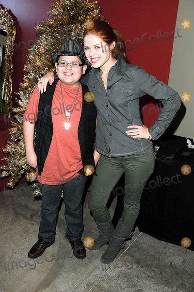 Anna Trebunskaya Photo - 01 December 2010 - Hollywood California - Rico Rodriguez  Anna Trebunskaya at Gifting Services Photo Jay SteineAdMedia