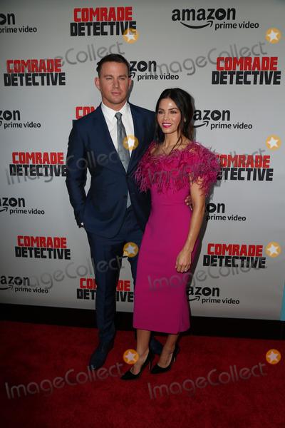 Channing Tatum Photo - 03 Augst 2017 - Hollywood California - Channing Tatum Jenna Dewan Premiere Of Amazons Comrade Detective held at ArcLight Hollywood Photo Credit PMAAdMedia