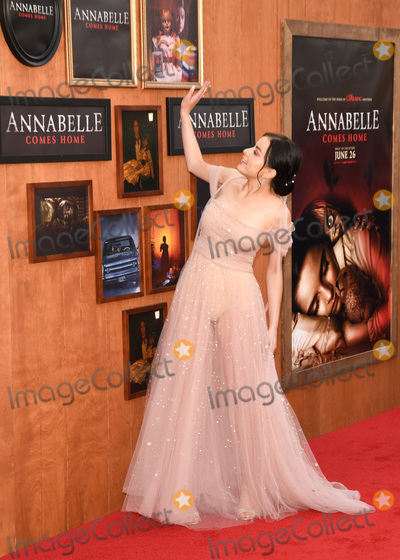Katie Sarife Photo - 17 June 2019 - Westwood California - Katie Sarife Annabelle Comes Home World Premiere held at Regency Village Theatre Photo Credit Billy BennightAdMedia