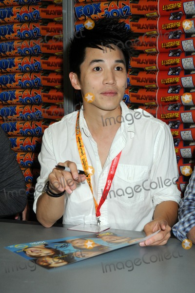 Abraham Lim Photo - 13 July 2012 - San Diego California - Abraham Lim The Glee Project Fan Signing at Comic Con 2012 held at the San Diego Convention Center Photo Credit Byron PurvisAdMedia