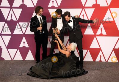 Andrew Wyatt Photo - 24 February 2019 - Hollywood California - Andrew Wyatt Anthony Rossomando Lady Gaga Mark Ronson The 91st Annual Academy Awards Press Room held at Hollywood and Highland Photo Credit Faye SadouAdMedia