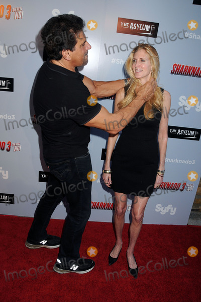 ANNE COULTER Photo - 22 July 2015 - Westwood California - Lou Ferrigno Ann Coulter Sharknado 3 Oh Hell No Los Angeles Premiere held at iPic Theaters Photo Credit Byron PurvisAdMedia