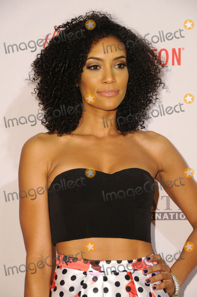 Annie  Ilonzeh Photo - 15 April 2016 - Beverly Hills California - Annie Ilonzeh Arrivals for the 23rd Annual Race To Erase MS Gala held at Beverly Hilton Hotel Photo Credit Birdie ThompsonAdMedia