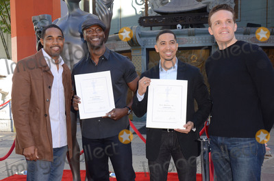 Aldis Hodge Photo - 26 January  - Hollywood Ca - Jason George Aldis Hodge Neil Brown Jr Woody Schultz SAG Awards Actor visits Hollywoods TCL Chinese Theater with SAG Awards nominees Aldis Hodge and Neil Brown Jr held at TCL Chinese Theater  Photo Credit Birdie ThompsonAdMedia