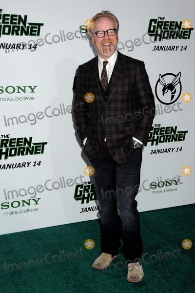 Adam Savage Photo - 10 January 2011 - Hollywood California - Adam Savage The Green Hornet Los Angeles Premiere held at Graumans Chinese Theatre Photo Byron PurvisAdMedia
