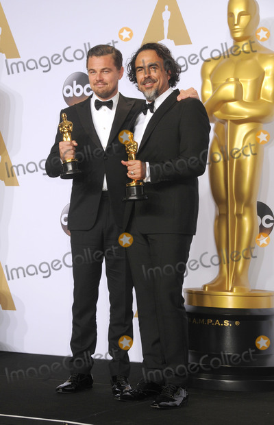 Alejandro Gonzalez Inarritu Photo - 28 February 2016 - Hollywood California - Leonardo DiCaprio Alejandro Gonzalez Inarritu 88th Annual Academy Awards presented by the Academy of Motion Picture Arts and Sciences held at Hollywood  Highland Center Photo Credit Byron PurvisAdMedia