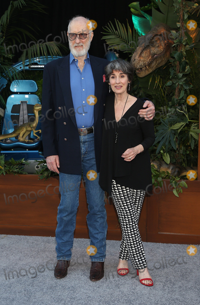 Anna Stuart Photo - 12 June 2018 - Los Angeles California - James Cromwell Anna Stuart  Jurassic World Fallen Kingdom Los Angeles Premiere held at Walt Disney Concert Hall Photo Credit F SadouAdMedia