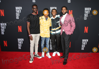 Asante Blackk Photo - 11 August 2019 - Los Angeles California - Ethan Herisse Asante Blackk Caleel Harris Jharrel Jerome When They See Us for your consideration Los Angeles 2019 - Day 1 held at Paramount Theatre Photo Credit FSadouAdMedia