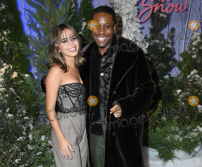 Four Seasons Photo - 01 November 2019 - Beverly Hills California - Isabel Merced Shameik Moore Netflixs Let It Snow Photo Call held at Four Season Hotel Photo Credit Birdie ThompsonAdMedia