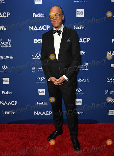 Ray Dolby Photo - 21 February 2020 - Hollywood California - Lester Holt 51st NAACP Image Awards - Non-Televised Awards Dinner  held at the Ray Dolby Ballroom Photo Credit Birdie ThompsonAdMedia