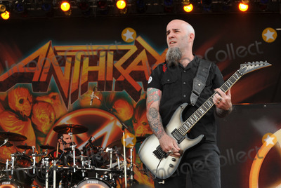 Anthrax Photo - 20 May 2012 - Columbus OH -  Guitarist SCOTTY IAN  of the thrash metal band ANTHRAX performs at Day 2 of the  Rock On The Range Festival held at Crew Stadium Photo Credit Jason L NelsonAdMedia