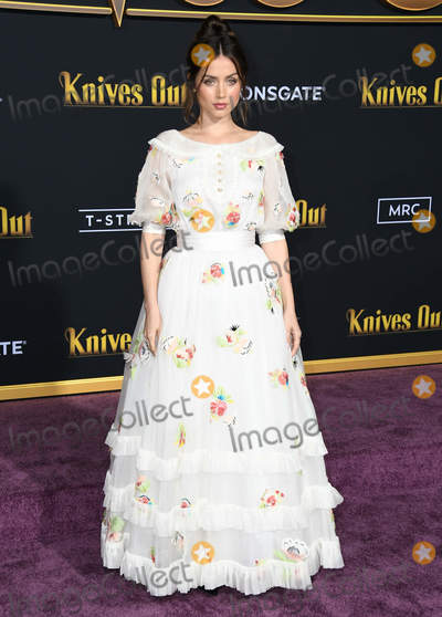 Ana Ivanovi Photo - 14 November 2019 - Westwood California - Ana De Armas Knives Out Los Angeles Premiere held at Regency Village Theater Photo Credit Birdie ThompsonAdMedia