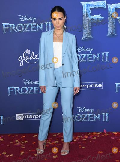 Jordana Brewster Photo - 07 November 2019 - Hollywood California - Jordana Brewster Disneys Frozen 2 Los Angeles Premiere held at Dolby Theatre Photo Credit Birdie ThompsonAdMedia