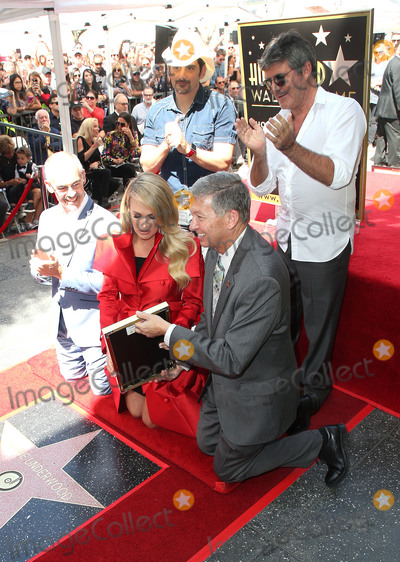 Leron Gubler Photo - 20 September 2018 - Los Angles California - Mitch OFarrell Carrie Underwood Brad Paisley Simon Cowell Leron Gubler Carrie Underwood Honored With Star On The Hollywood Walk Of Fame Photo Credit Faye SadouAdMedia