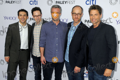 Andrew Mogel Photo - 15 September 2015 - Beverly Hills California - Fred Savage Jarrad Paul Andrew Mogel Ben Wexler Rob Lowe 2015 PaleyFest Fall TV Preview - The Grinder held at The Paley Center Photo Credit Byron PurvisAdMedia