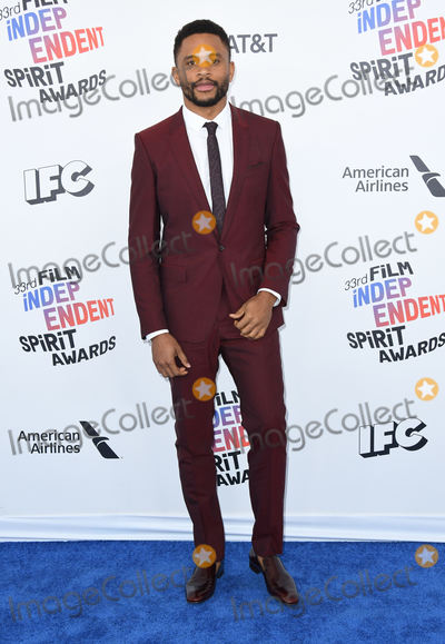 Nnamdi Asomugha Photo - 03 March 2018 - Santa Monica California - Nnamdi Asomugha 2018 Film Independent Spirit Awards -Arrivals held at the Santa Monica Pier Photo Credit Birdie ThompsonAdMedia