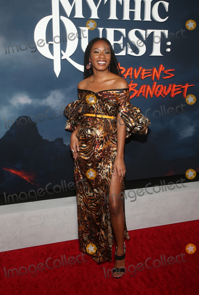 Raven Photo - 29 January 2020 - Hollywood California - Imani Hakim Premiere Of Apple TVs Mythic Quest Ravens Banquet held at The Cinerama Dome Photo Credit FSAdMedia