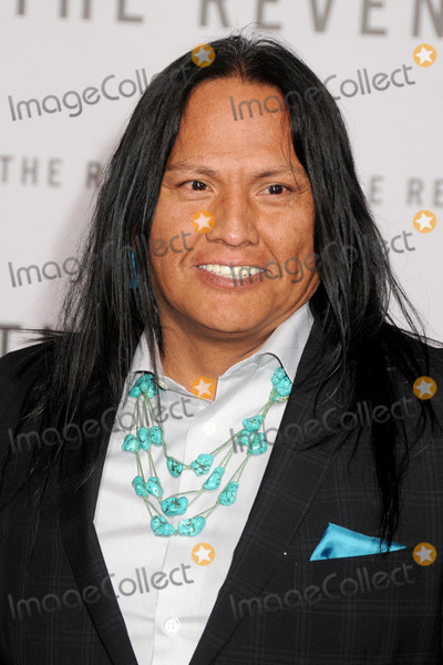 Arthur Redcloud Photo - 16 December 2015 - Hollywood California - Arthur Redcloud The Revenant Los Angeles Premiere held at the TCL Chinese Theatre Photo Credit Byron PurvisAdMedia