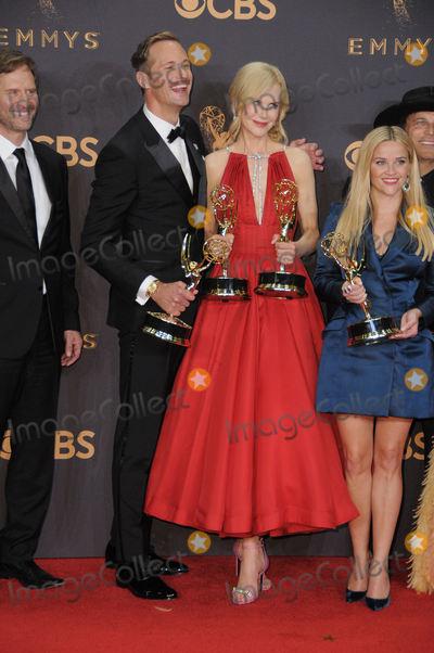Alexander Skarsgard- Photo - 17 September  2017 - Los Angeles California - Alexander Skarsgard Nicole Kidman 69th Annual Primetime Emmy Awards -  Press Room held at Microsoft Theater in Los Angeles Photo Credit Birdie ThompsonAdMedia