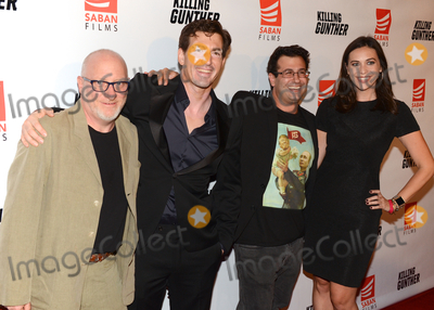 Andy Ross Photo - 14 October 2017 - Hollywood California - ANDY ROSS DINO MENEGHIN CHARLES BARSAIAN AND MEGHAN KOZLOSKY Killing Gunther Los Angeles Premiere held at TLC Chinese Theater Photo Credit Billy BennightAdMedia