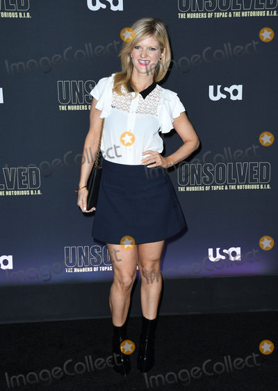 Arden Myrin Photo - 22 February 2018 - Hollywood California - Arden Myrin USA Networks Unsolved The Murders of Tupac  The Notorious BIG held at Avalon Hollywood Photo Credit Birdie ThompsonAdMedia