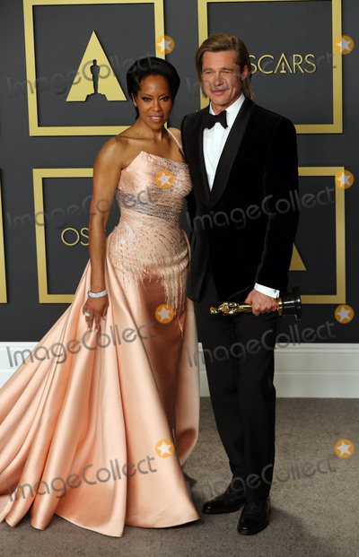 Brad Pitt Photo - 09 February 2020 - Hollywood California - Regina King and Brad Pitt attend the 92nd Annual Academy Awards presented by the Academy of Motion Picture Arts and Sciences held at Hollywood  Highland Center Photo Credit Theresa ShirriffAdMedia