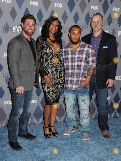 Tee Hanible Photo - 15 January 2016 - Pasadena California - Noah Galloway Tee Hanible Nicholas Irving Rorke Denver FOX TCA Winter 2016 All-Star Party held at the Langham Huntington Hotel Photo Credit Byron PurvisAdMedia