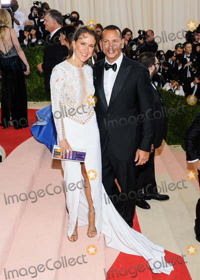 Alex Rodriguez Photo - 02 May 2016 - New York New York- Alex Rodriguez Anne Wojcicki  Metropolitan Museum of Art Costume Institute Gala Manus x Machina Fashion in the Age of Technology Photo Credit Christopher SmithAdMedia